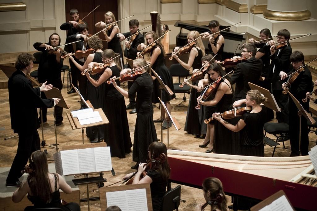 03.10.2011 Krakow. Filharmonia im. Karola Szymanowskiego. Koncert M¸odej Polskiej Filharmonii. Fot. Bartosz Siedlik