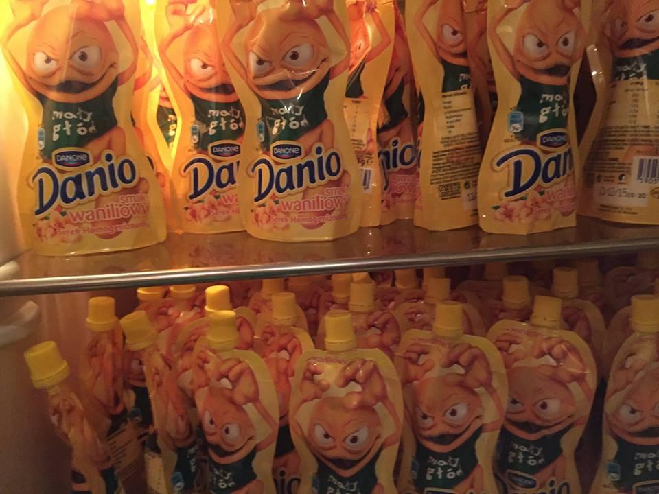 Pakiet prasowy Danio na Wynos, czyli lodówka PR-owca